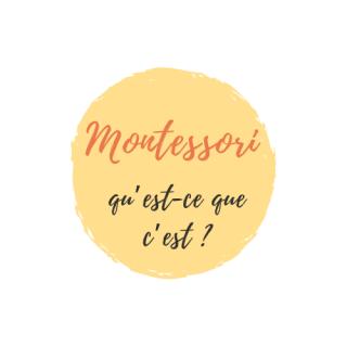 Montessori qu'est-ce que c'est